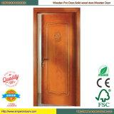 Porte de porte de maison de porte d'obturateur double