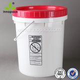 20L 5 Gallon Screw Lid Plastic Bucket Pail