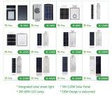 50W réverbère solaire du boîtier en aluminium DEL 120lm/W
