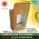 Antifogging Windows를 가진 식품 포장 종이상자 판지