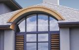 Incêndio - Windows de alumínio de vidro dobro isolado resistente