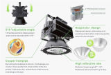 luz industrial de 500W IP67 LED