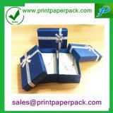 Decorativo avanzado anunció la caja de embalaje del collar del anillo de la joyería