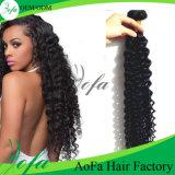 Do Virgin profundo brasileiro não processado da onda do preço de grosso cabelo humano