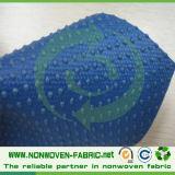 Tessuto rivestito del PVC Nonwoven antisdrucciolevole a gettare del pistone del solo