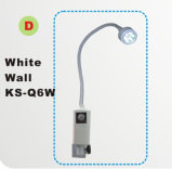 Gp Practices, E.N.T., Ophthalmology, Gynaecology, Small Theatre, Clinic, Physician, Minor Operations, Dental Use를 위한 LED Minor Surgical Lamp Ks-Q6 White Wall Type