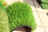 Herbe artificielle de terrain de football pour le terrain de football