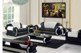 Modernes ledernes Schnittsofa mit Ecke für Wohnzimmer