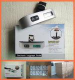 Da bagagem portátil do curso de Digitas do indicador da alta qualidade 50kg LCD escala de suspensão
