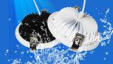 ÉPI DEL Downlight imperméable à l'eau d'Aluminium+Glass IP65 10W Epistar