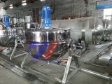 600L Automatic Tilting Steam Heating Jacketed Cooking Kettle