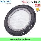 diodo emissor de luz elevado industrial do UFO do louro 150W para a iluminação da corte de tênis