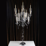 Clear di qualità superiore Crystal Candle Holder con Competitive Price