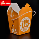 Paper Fast Food Box wegnehmen mit Handle