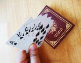 Cartões do póquer para o tamanho do clube do casino 2 1/4 * 3 1/4 de polegada