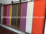 Pintura de PVC / UV / Melamina Slatwall MDF