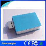 Изготовленный на заказ книга PVC логоса 3D сформировала привод 8GB 16GB пер USB