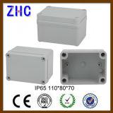 Caixa de junção impermeável do disjuntor plástico elétrico pequeno do assoalho da distribuição 110*80*45
