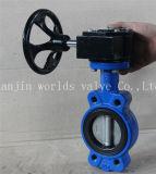 Semi-Волочите клапан-бабочку с ISO одобренным Wras Ce (D7L1X-10/16)