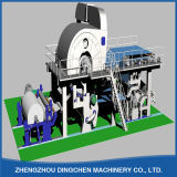 1880mm 5ton Toiletpapier Machine Use Waste Paper