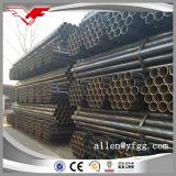 tubo de acero redondo barnizado negro del carbón de 4inch ERW