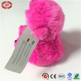 Juguete suave relleno mullido del oso polar del peluche lindo rosado oscuro