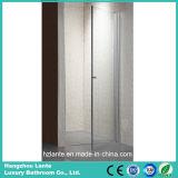 Nette ausgeglichenes Glas-Dusche-Tür des Entwurfs-6mm (LT-9-3180-C)