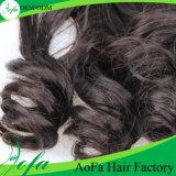 Aofa最上質のインドのRemyの毛、バージンの人間の毛髪の拡張