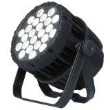 IP65 al aire libre 24 * 18W 6in1 todo Color LED PAR Can Luz