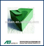 Boîte à cartes de papier de belle triangle pour la sucrerie dans beaucoup de tailles