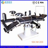 ISO / Ce Aprovado China Fluoroscopic Hospital Use Electric Hydraulic Operating Table