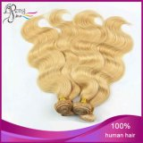 Cheveux humains 100% de Remy de Vierge de vague du corps 613# Extenation