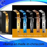 Fünf Farben Wholesale Dusche-Kopf mit Qualitäts-Metall