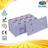 AGM 2V1000ahの太陽エネルギーシステムのための深いサイクル電池