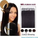 Extensão brasileira do cabelo humano de Remy do estilo popular