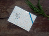 Elastic Band (XL-64K-YP-01)를 가진 주문을 받아서 만들어진 64k Hardcover Paper Notebook