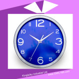 Steel modificado para requisitos particulares Wall Clock en romano Numeral PC-002