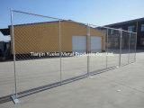 Cerca temporal con la base del cemento/los paneles temporales verdaderos de cercado temporales de la fábrica/de la cerca del estilo industrial