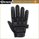 Novo Modelo Esdy Full Finger Outdoor Tactical Gloves Black