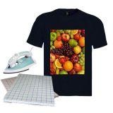 Papel de transferência térmica escuro do t-shirt do tamanho de A3/A4 para a impressão da roupa do t-shirt 100%/vestuário do algodão