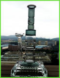 Buis Drie van de Jade van de Drievoudige van de Honingraat van de Schijf van Perco Lagen Waterpijp van het Glas Rokende