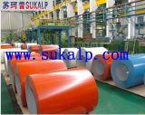 Color de acero galvanizado China de la bobina de Hbis