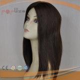 손에 의하여 묶이는 레이스 기초 자연적인 색깔 고품질 여자 가발 (PPG-l-0962)