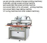Máquina de impressão de trabalho da tela do elevador de Fb-750n/960n/1270n Horizonal para o t-shirt/vestuário/roupa/tela/película não tecida/plástica/couro/roupa de Oxford