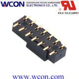 connecteur de fil de carte de connecteur d'en-tête de femelle de 2.54mm