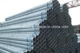 REG inmersión en caliente de acero de la construcción de tuberías galvanizadas