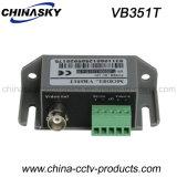 Transformateur symétrique visuel actif des accessoires 1-CH de télévision en circuit fermé de surveillance par l'intermédiaire d'UTP (VB351)