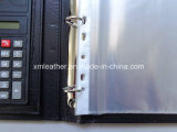 Черное A4 Leather Bound Presentation Binder с File Sleeve