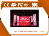 Hohe Auflösung druckgegossene Aluminiuminnenmiete P3.91 LED-Bildschirmanzeige