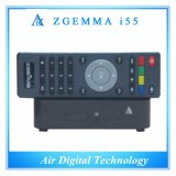 Boîte de pointe Zgemma I55 de 2016 la nouvelle IPTV jeûnent joueur duel de canaux d'OS WiFi de Linux de noyau d'unité centrale de traitement plein
